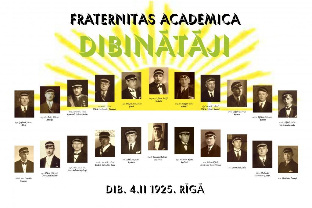 Fraternitas Academica dibinātāji