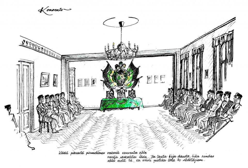Fil! Rūdolfa Veldres zīmētā konventa zāle