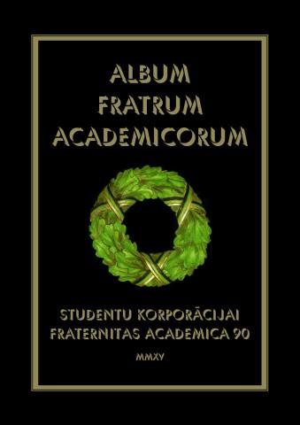 Album Fratrum Academicorum 1925-2015 Vaks